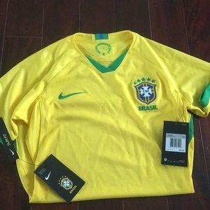 Women's Nike CBF Brasil Jersey